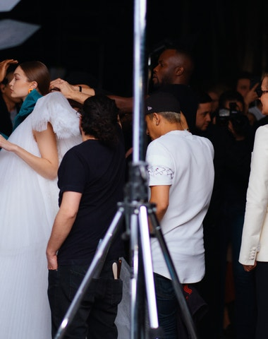 Off-White a rodinná záležitost Gigi Hadid