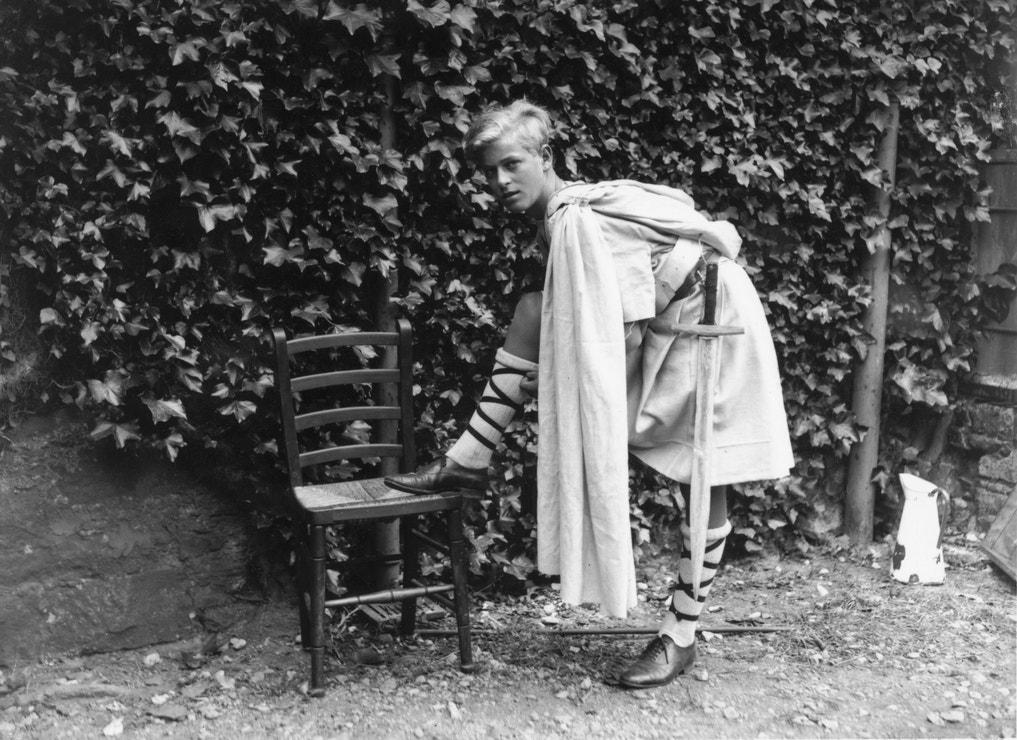 Princ Philip v roce 1935