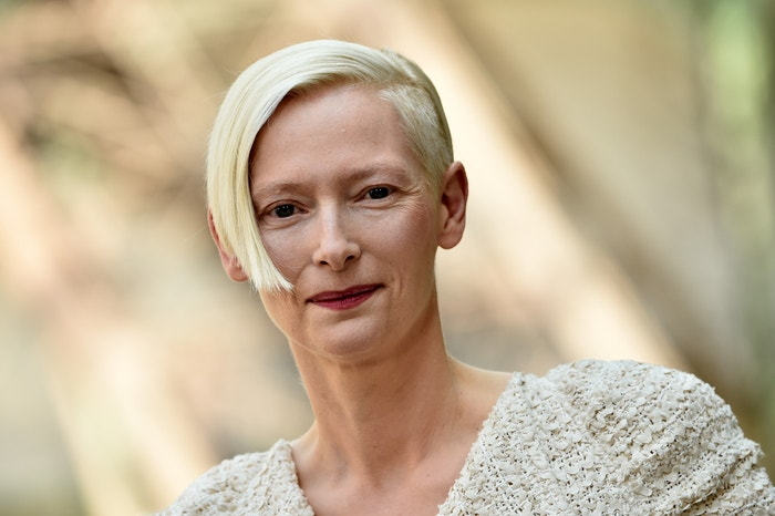 Tilda Swinton na přehlídce Chanel Haute Couture Fall/Winter 2017/2018, 2017 Autor: Pascal Le Segretain/Getty Images