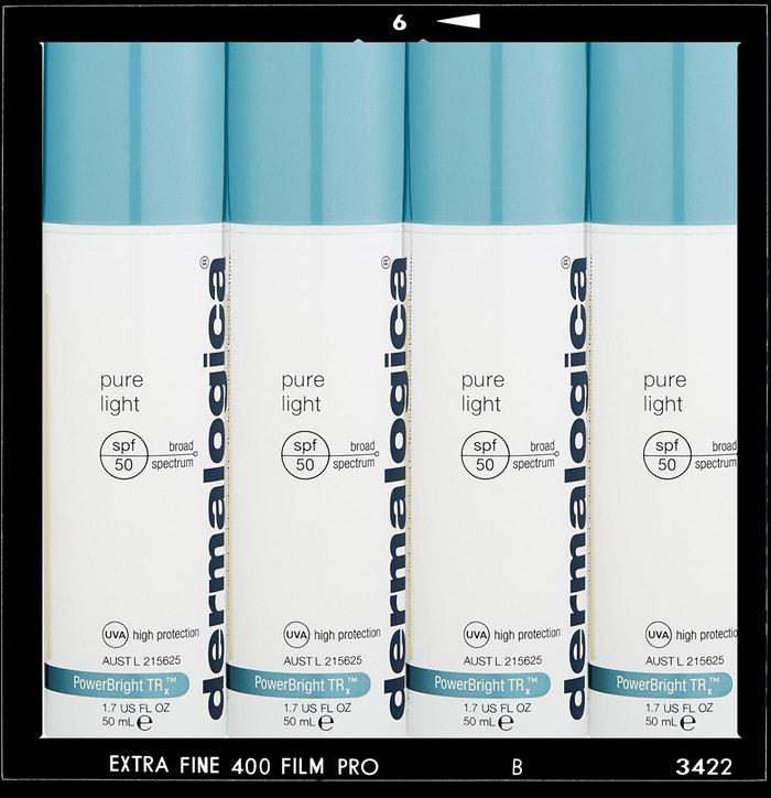 Denní rozjasňující krém Pure Light SPF 50 pro pleť se sklonem k pigmentovým skvrnám, DERMALOGICA, prodává Dermalogica.cz, 2190 Kč Autor: Archiv značky