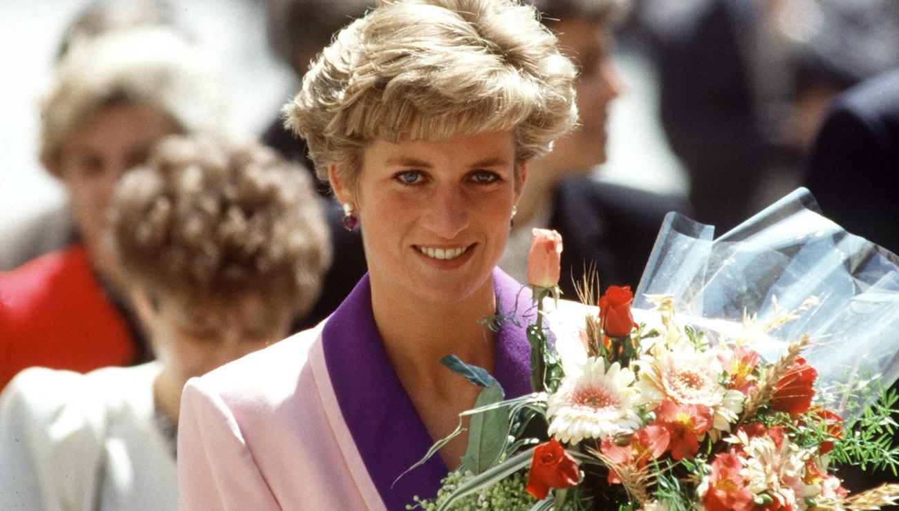 Princezna Diana na své jediné návštěvě Československa