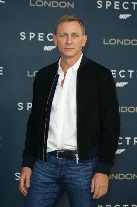 Daniel Craig v Londýně, říjen 2015
