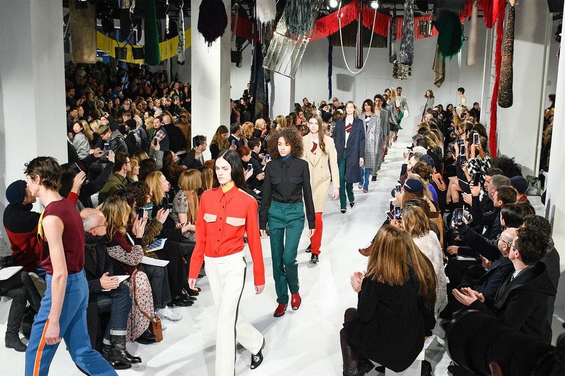 Calvin Klein, únor 2017, New York Fashion Week
