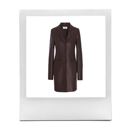 Kožený kabát, Nedifa, prodává The Row, 6 990 $