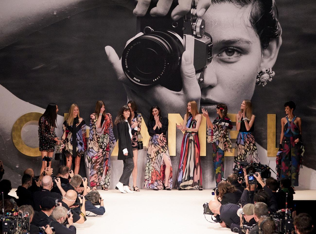 Virginie Viard na přehlídce Chanel jaro - léto 2022