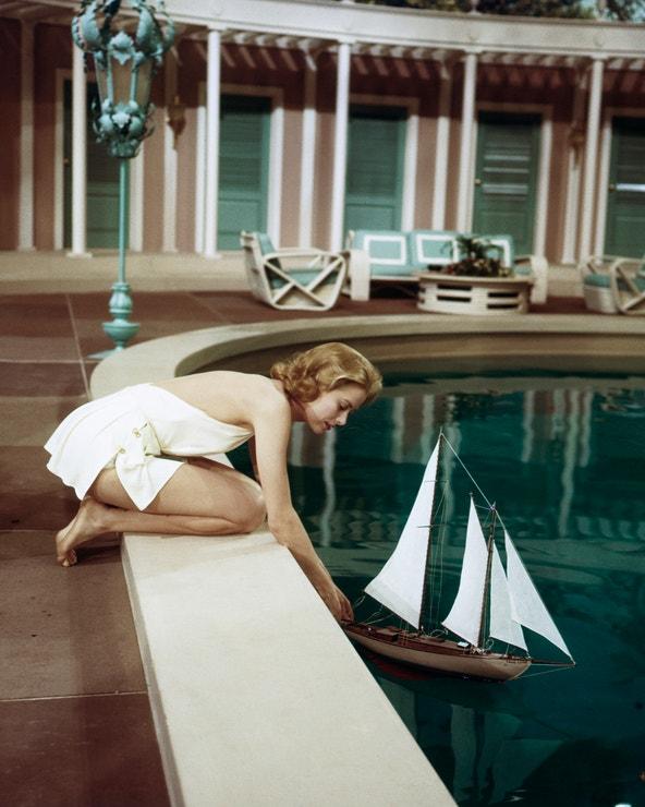 Grace Kelly ve filmu Z nóbl společnosti, 1956