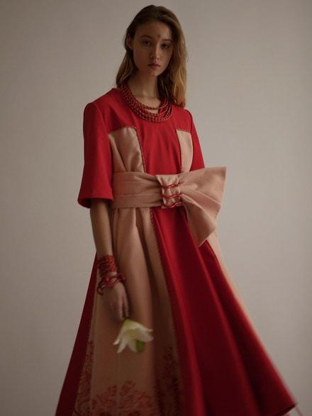 Ukázka práce Lucie Zvánovcové (modelka Aneta Staňková)