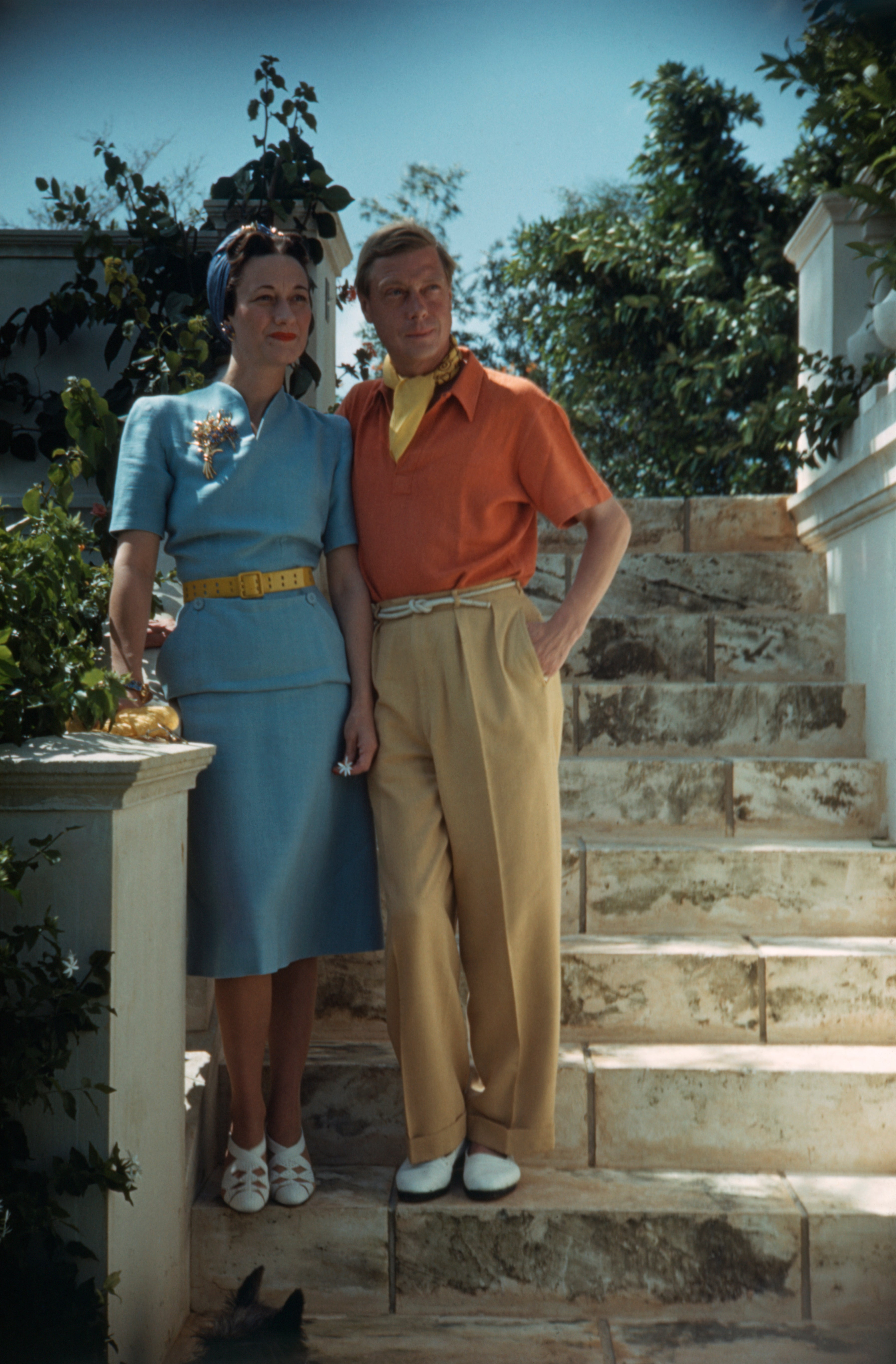 Vévoda a vévodkyně z Windsoru, 1. září 1941          Autor: Bettmann/Getty Images