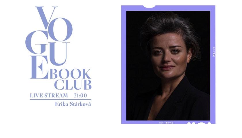 Erika Stárková čte živě pro Vogue. Už dnes večer!
