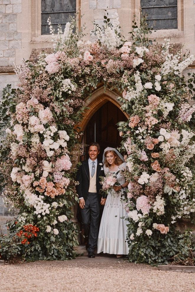 Princezna Beatrice a Edoardo Mapelli Mozzi, 17. července 2020