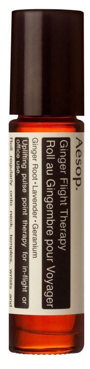 Ginger Flight Therapy: pro klid váš i vašeho spolucestujícího  Aesop (prodává Ingredients), 650 Kč