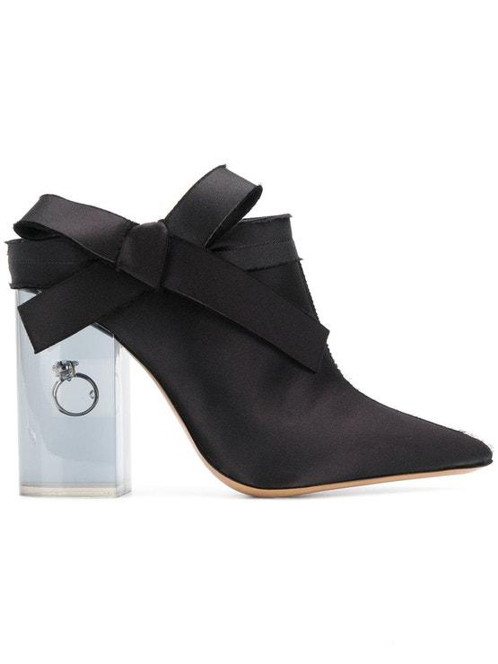 Pantofle Leave Me na vysokém podpatku z plexiskla, Maison Margiela, prodává Farfetch.com, 924 €