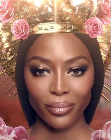 Naomi Campbell korunována tváří značky Pat McGrath