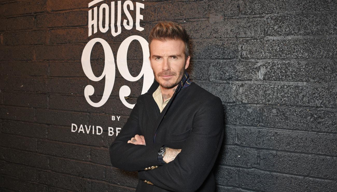 Vlasový chameleon David Beckham
