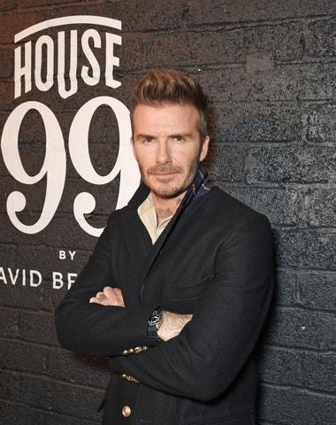 David Beckham jako vlasový chameleon