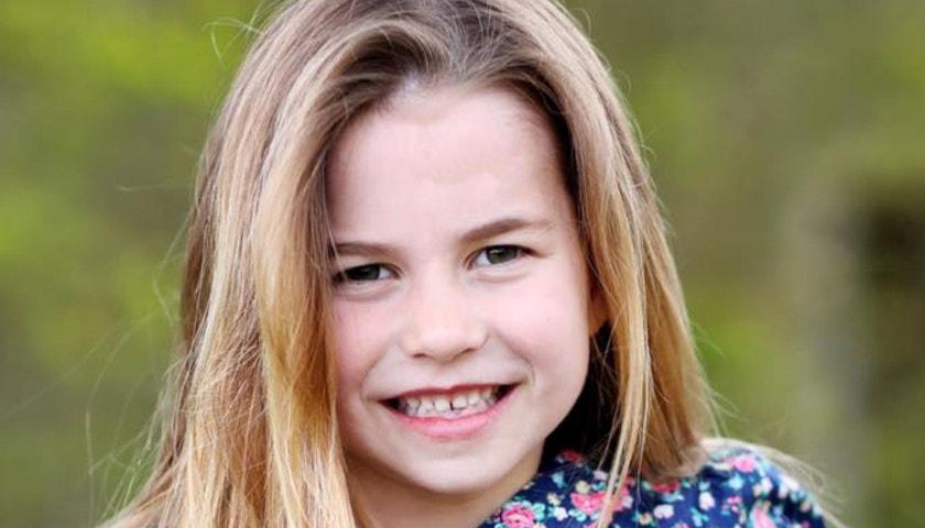 Princezna Charlotte slaví šesté narozeniny
