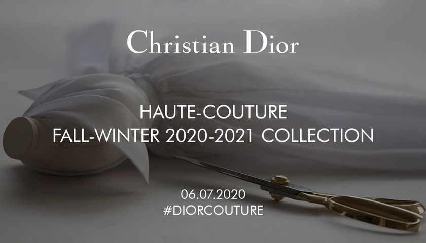Dior Haute Couture podzim–zima 2020/2021