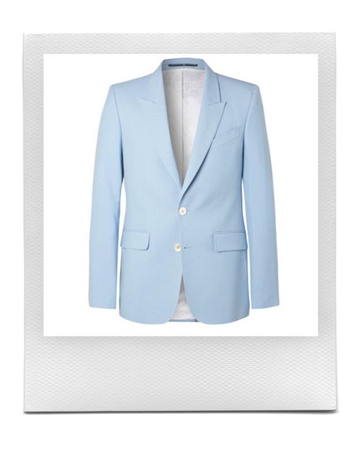 Nebesky modré sako, Givenchy, prodává Mr Porter, 1 585 £ Autor: Mr Porter