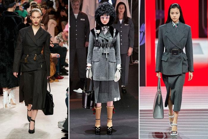 Fendi, Gucci, Prada.