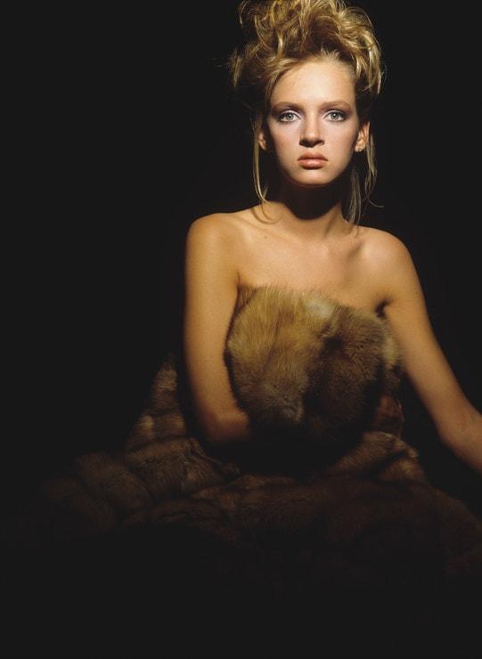 Uma Thurman, 1985