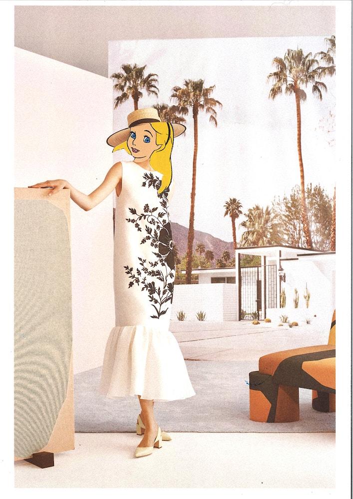 Alenka v resort kolekci Carolina Herrera