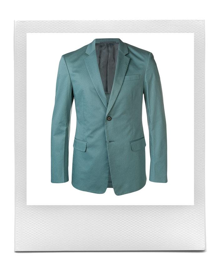 Zelené slim sako, Prada, prodává Farfetch, 2 128 € Autor: Farfetch