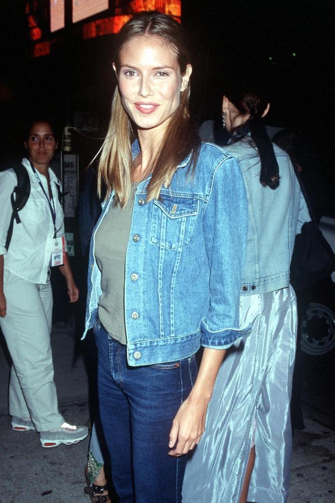 Heidi Klum, New York, září 1999