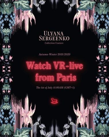 Živě z Paříže: Ulyana Sergeenko Couture podzim – zima 2019/2020