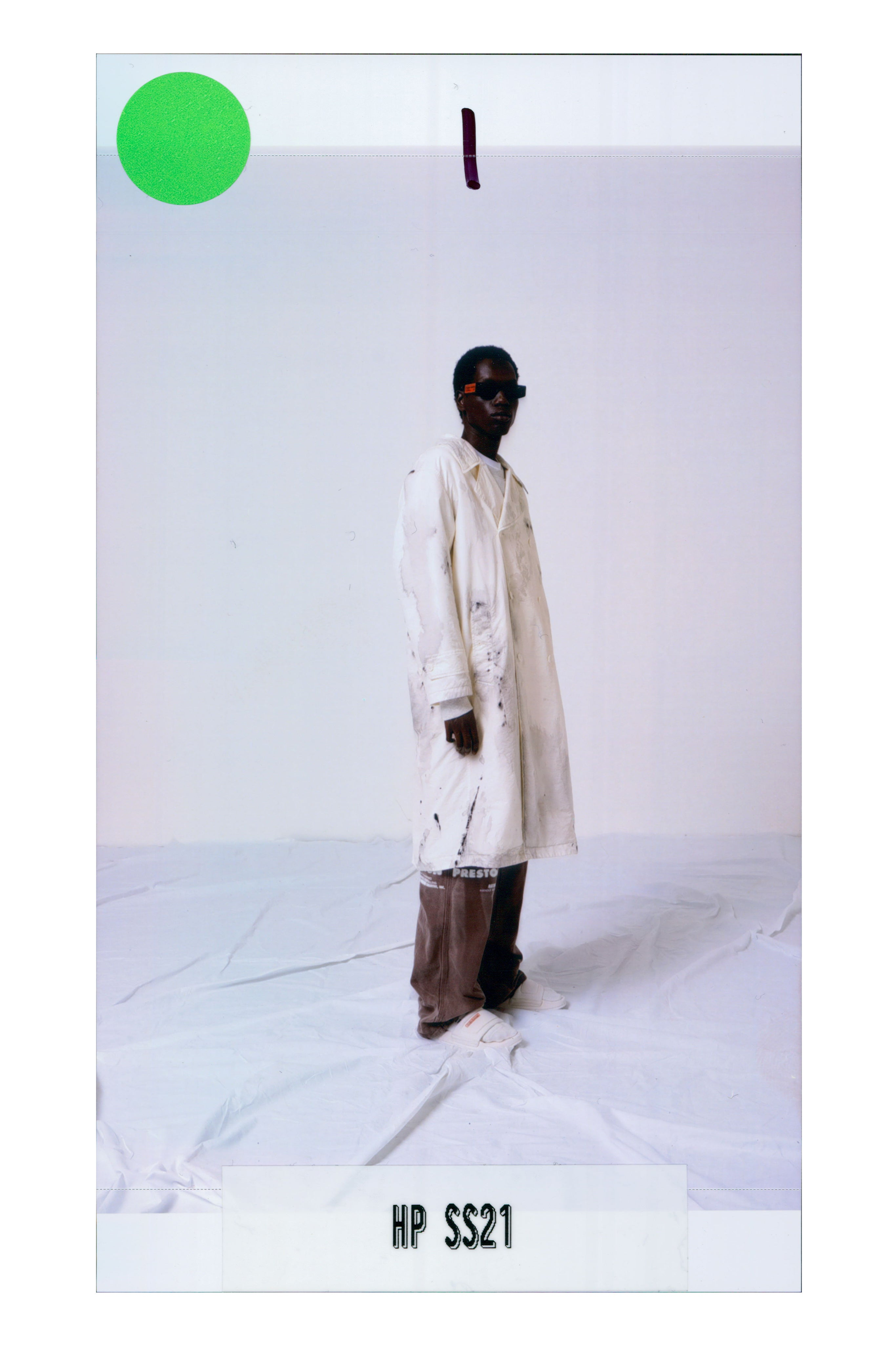 Heron Preston Spring-Summer 2021 Autor: Courtesy of Heron Preston