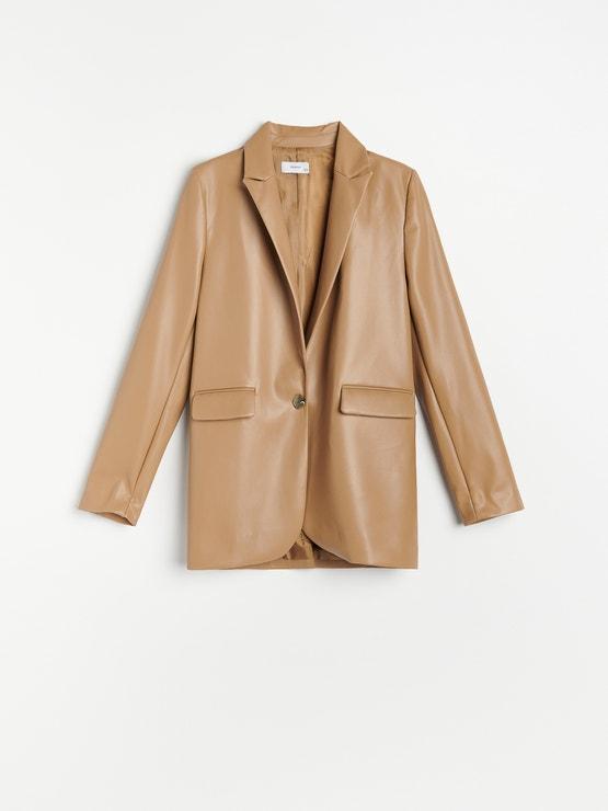 Blejzr z umělé kůže, Reserved, prodává Reserved, 999 Kč #VoguePromotion