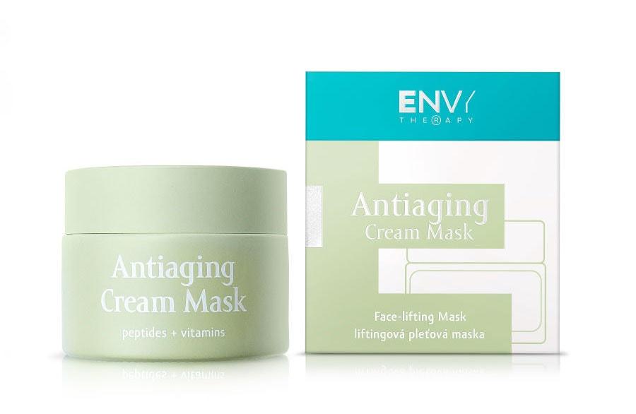 Liftingová pleťová maska Antiaging Cream Mask s vitaminy a peptidy, ENVY THERAPY, prodává EnvyTherapy.com, 1 151 Kč