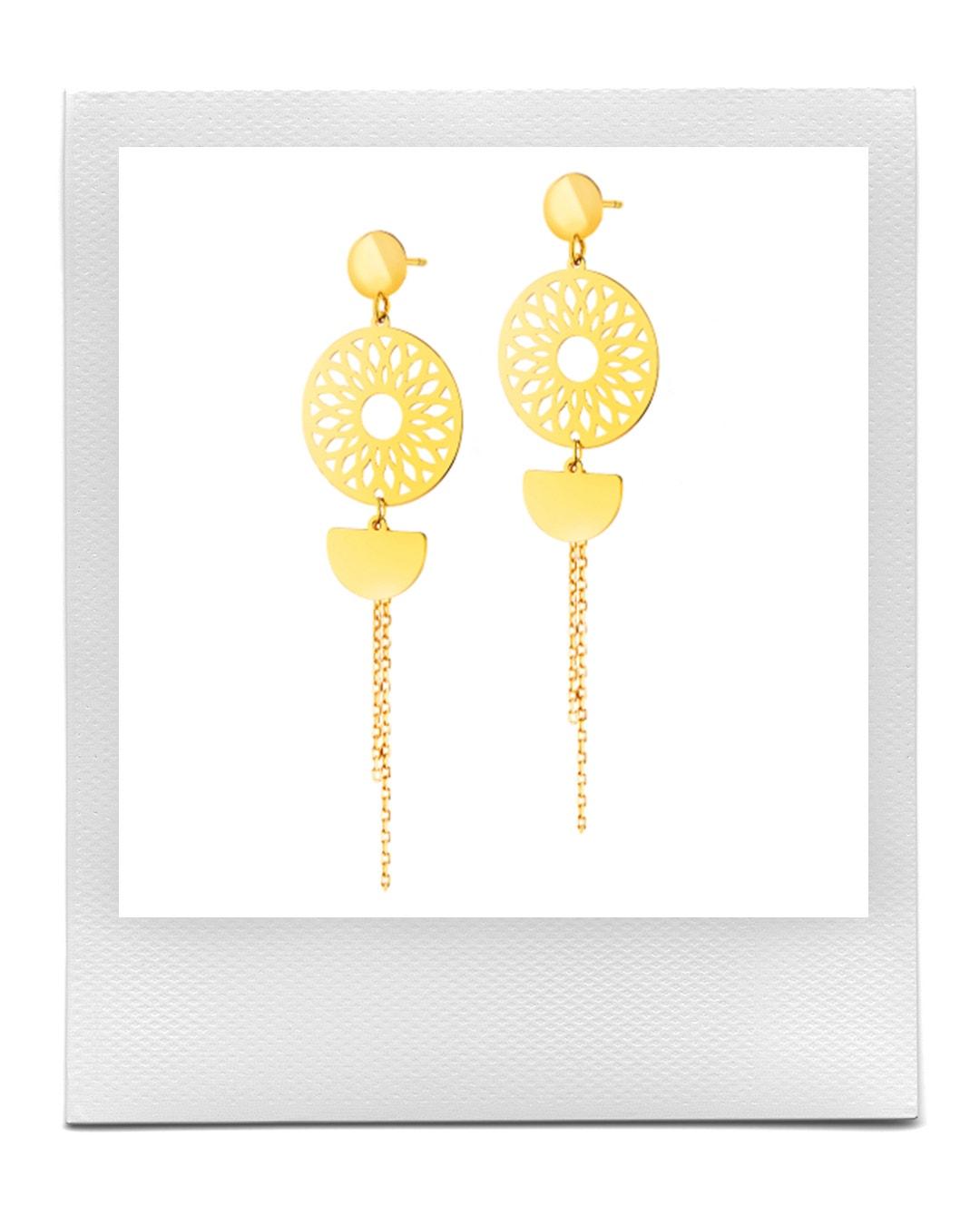 Zlaté náušnice, Apart  prodává Apart, 5 209 Kč