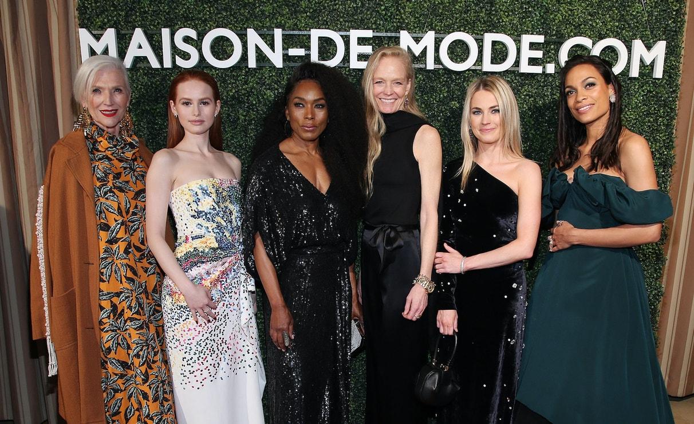 Maye Musk, Madelaine Petsch, Angela Bassett, Suzy Amis Cameron, Amanda Hearst a Rosario Dawson