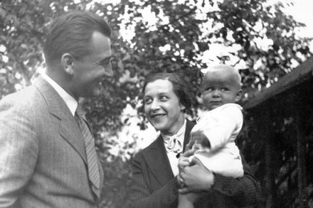 Manželé Horákovi s dcerou Janou