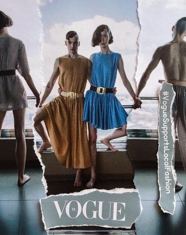 Vogue Supports Local Fashion: Zoltán TóthČeskoslovenské léto 2020