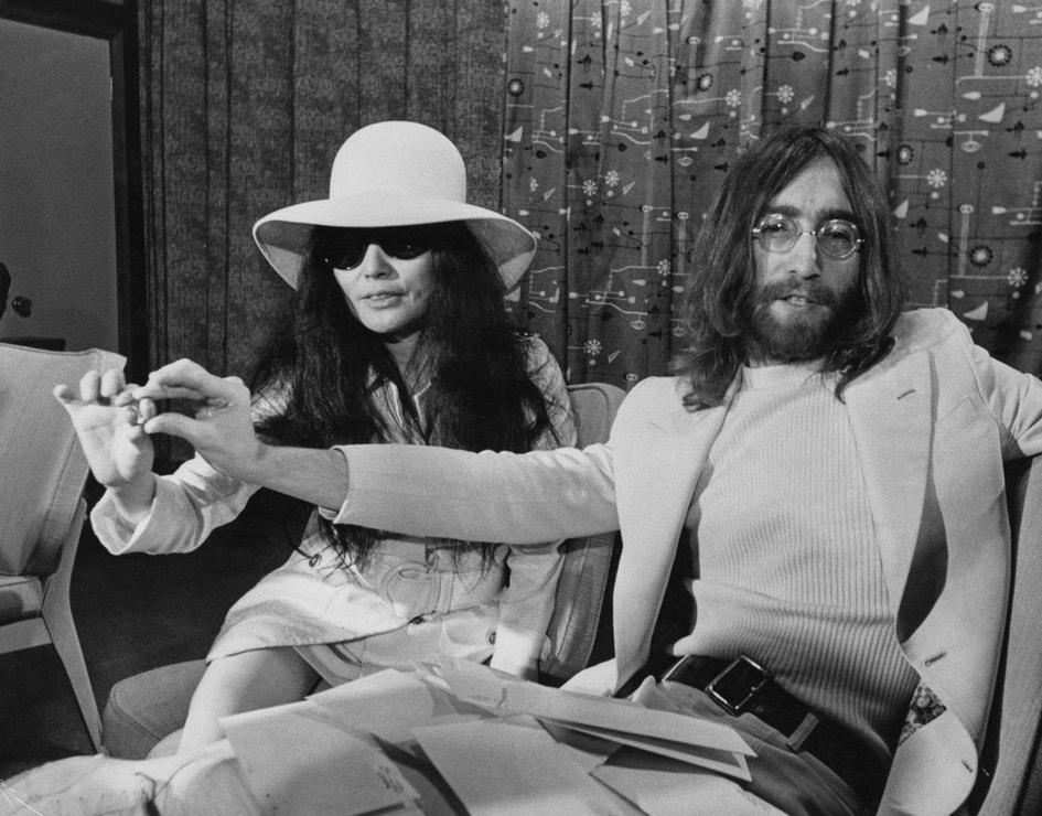 John Lennon a Yoko Ono v Austrálii, 1969
