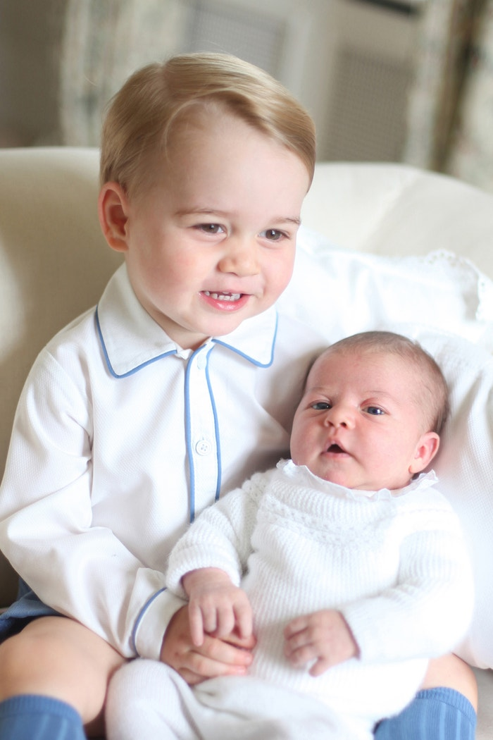 Princ George a princezna Charlotte, 2015 Autor: REX/Shutterstock