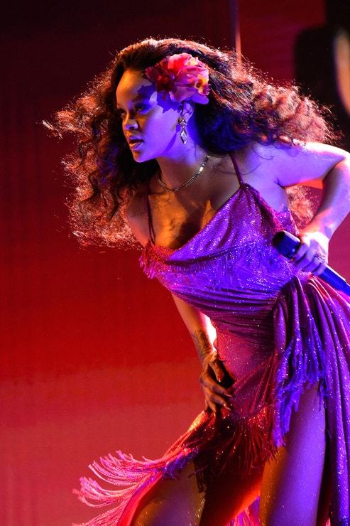 Rihanna na  60th Annual Grammy Awards, leden 2018