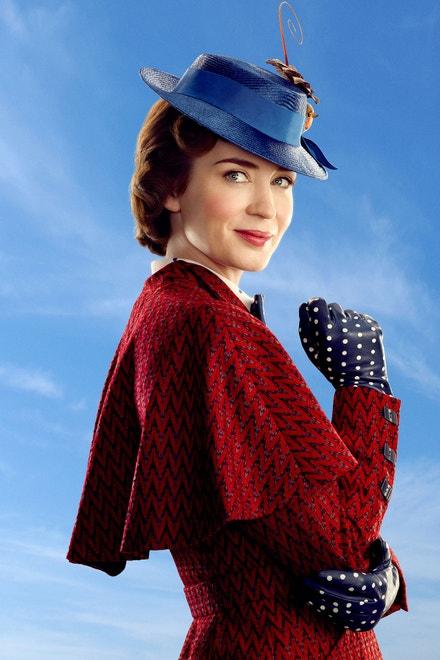 Emily Blunt v novém zpracování Mary Poppins