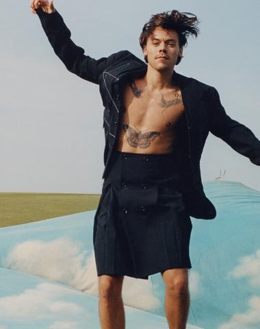 Harry Styles o meditaci, receptu na štěstí a své první obálce Vogue