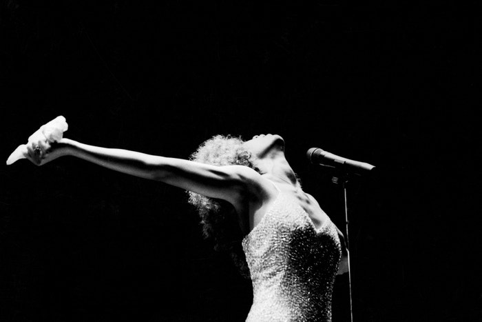 Whitney Houston, 1986 Autor: Getty Images