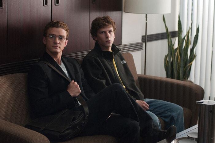 Justin Timberlake a Jesse Eisenberg