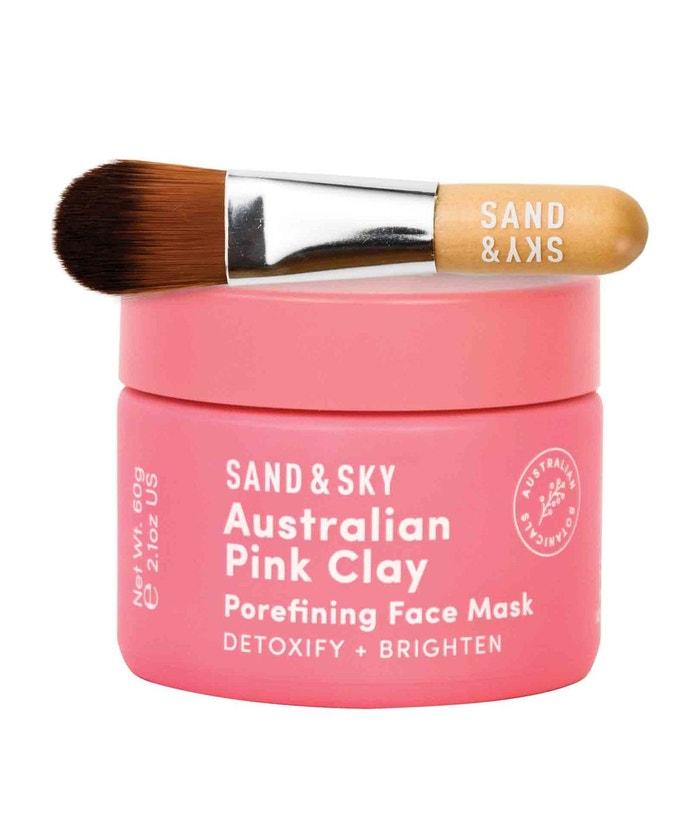 Australian Pink Clay Face Mask, Sand and Skin, prodává Sephora, 640 Kč