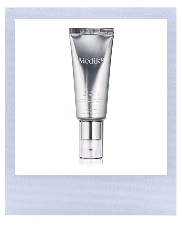 Sérum s technologií postupného uvolňování vitaminu A Crystal Retinal 3, Medik8, prodává Medaprex, 1 350 Kč Autor: Archiv značky