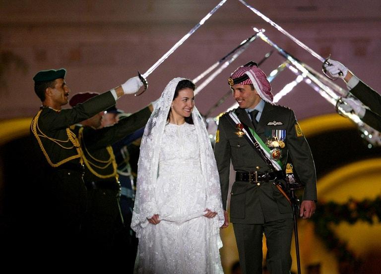 Princ Hamza bin Husajn a princezna Núr, 2003