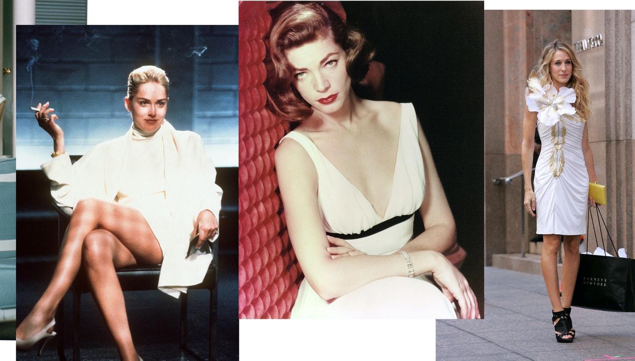 Ikonické bílé šaty ve filmech a jaké si pořídit tuto sezonu