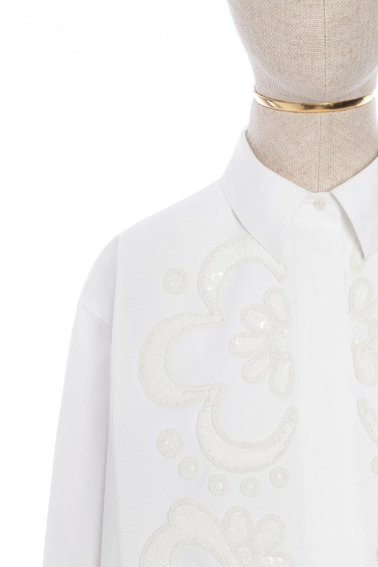 Detail košile Valentino Le Blanc