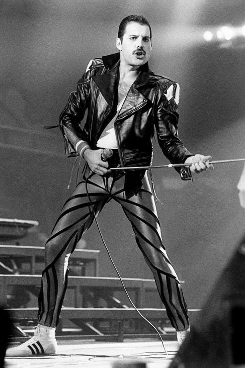 Freddie Mercury, září 1984