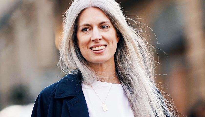 Grey hair, don't care! Jak nosit šedivé vlasy