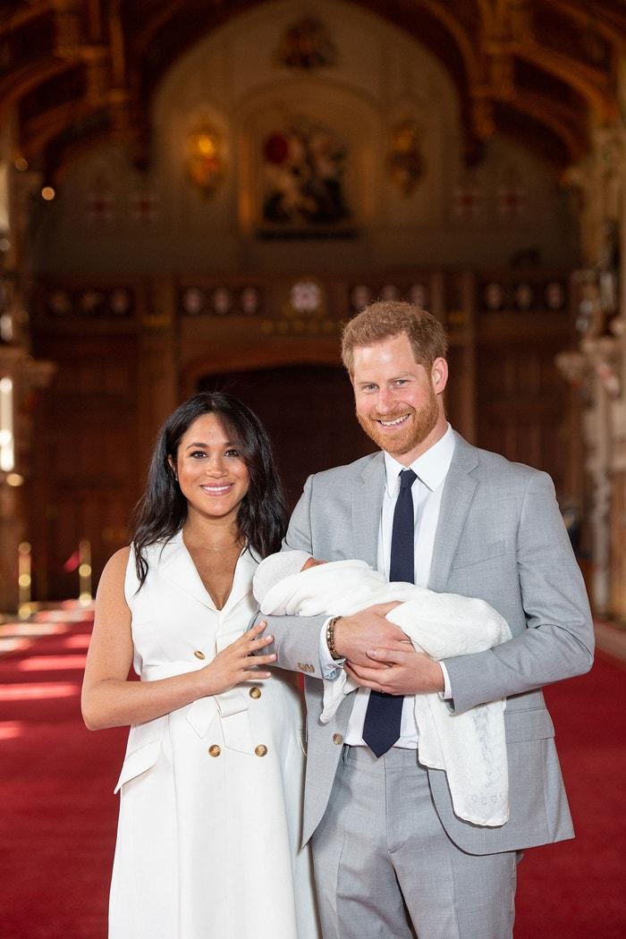 Vévoda a vévodkyně ze Sussexu a jejich syn Archie Autor: PA Images